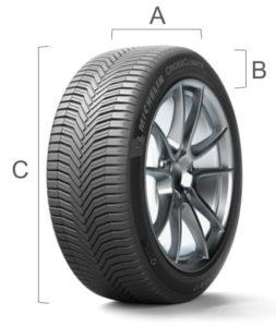 Dimension pneu